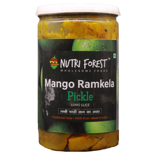 Nutri Forest Ramkela Mango Pickle - Nutri Forest