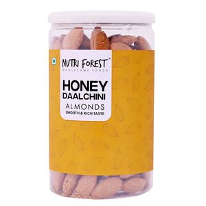 Honey Roasted Almonds with Cinnamon