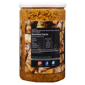 Nutri Forest Turmeric Pickle - Nutri Forest