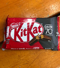 Load image into Gallery viewer, kitkat dark chocolate 70%