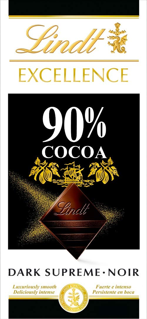 lindt 90 dark chocolate