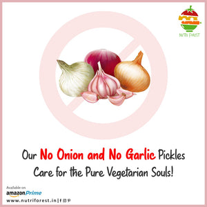 no onion no garlic creative