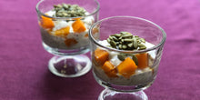 Load image into Gallery viewer, pumpkin chia mango pudding