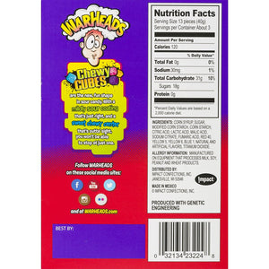 warheads cubes box backside