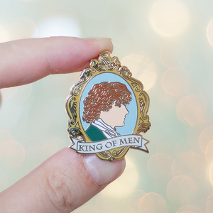 Jamie Fraser King of Men Enamel Pin