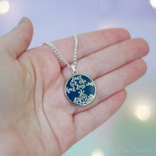 Load image into Gallery viewer, ACOTAR Don't Let the Hard Days Win Necklace
