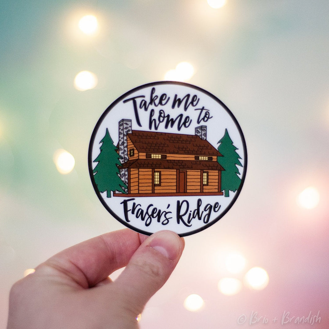 Fraser's Ridge Waterproof Vinyl Sticker