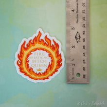 Load image into Gallery viewer, Fire Queen Waterproof Vinyl Sticker
