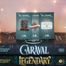 Load image into Gallery viewer, Caraval 3 Pin Set