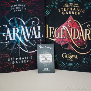 Caraval Ticket Enamel Pin