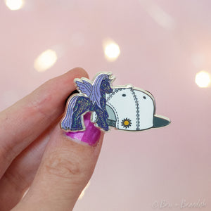 Jelly Jubilee and Sunball Hat Enamel Pin