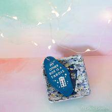 Load image into Gallery viewer, TARDIS Motel Keychain