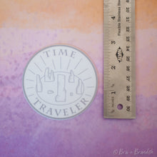 Load image into Gallery viewer, Time Traveler Waterproof Vinyl Sticker