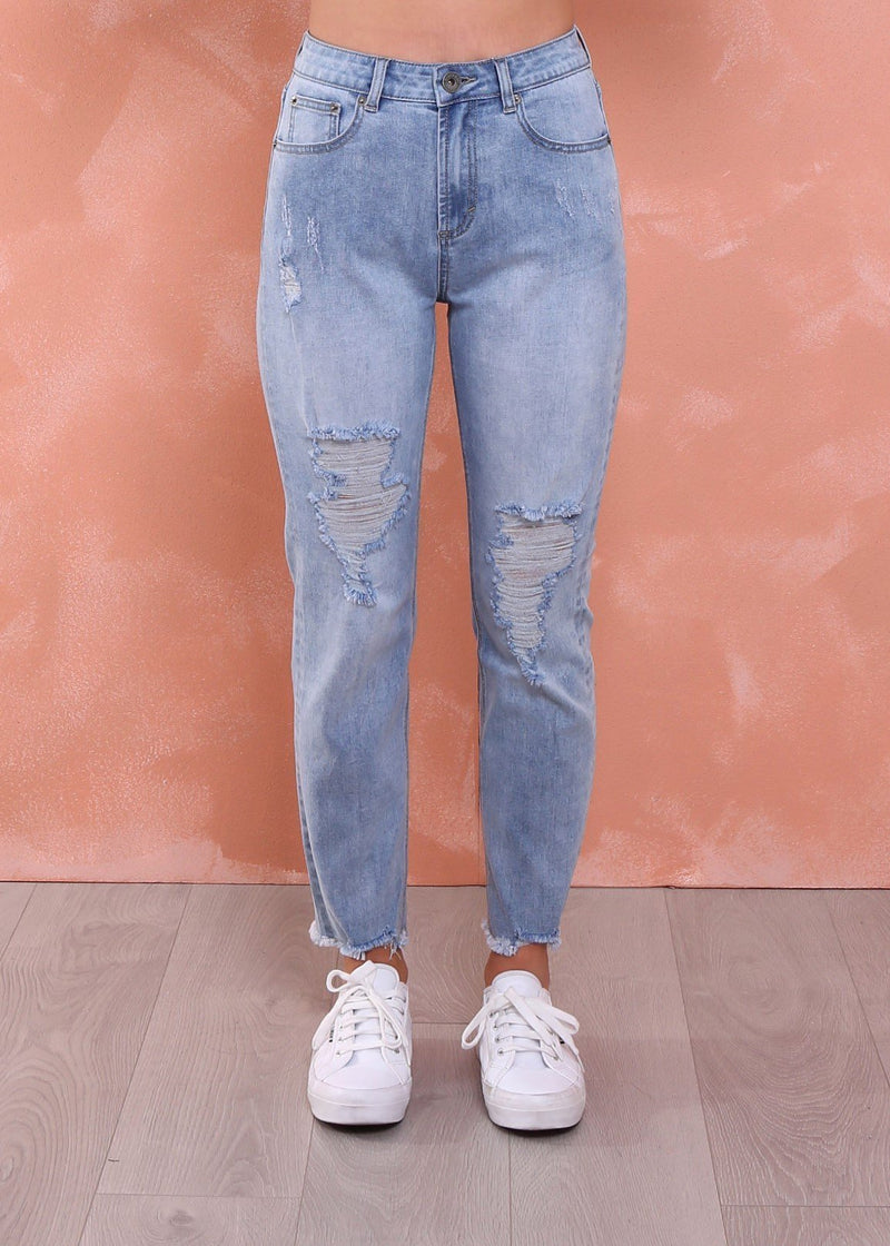 Boyfriend Jeans (Blue Wash) - Something For Me​​