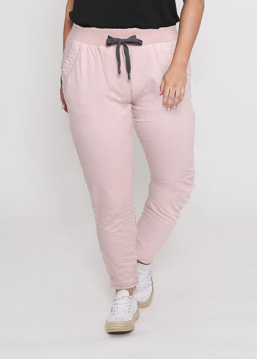 Curves Riley Jogger (Blush) - Something For Me​​