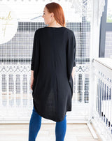 Emma Festival Shrug (Black)