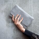 Sirena Purse (Light Grey) - Something For Me​​