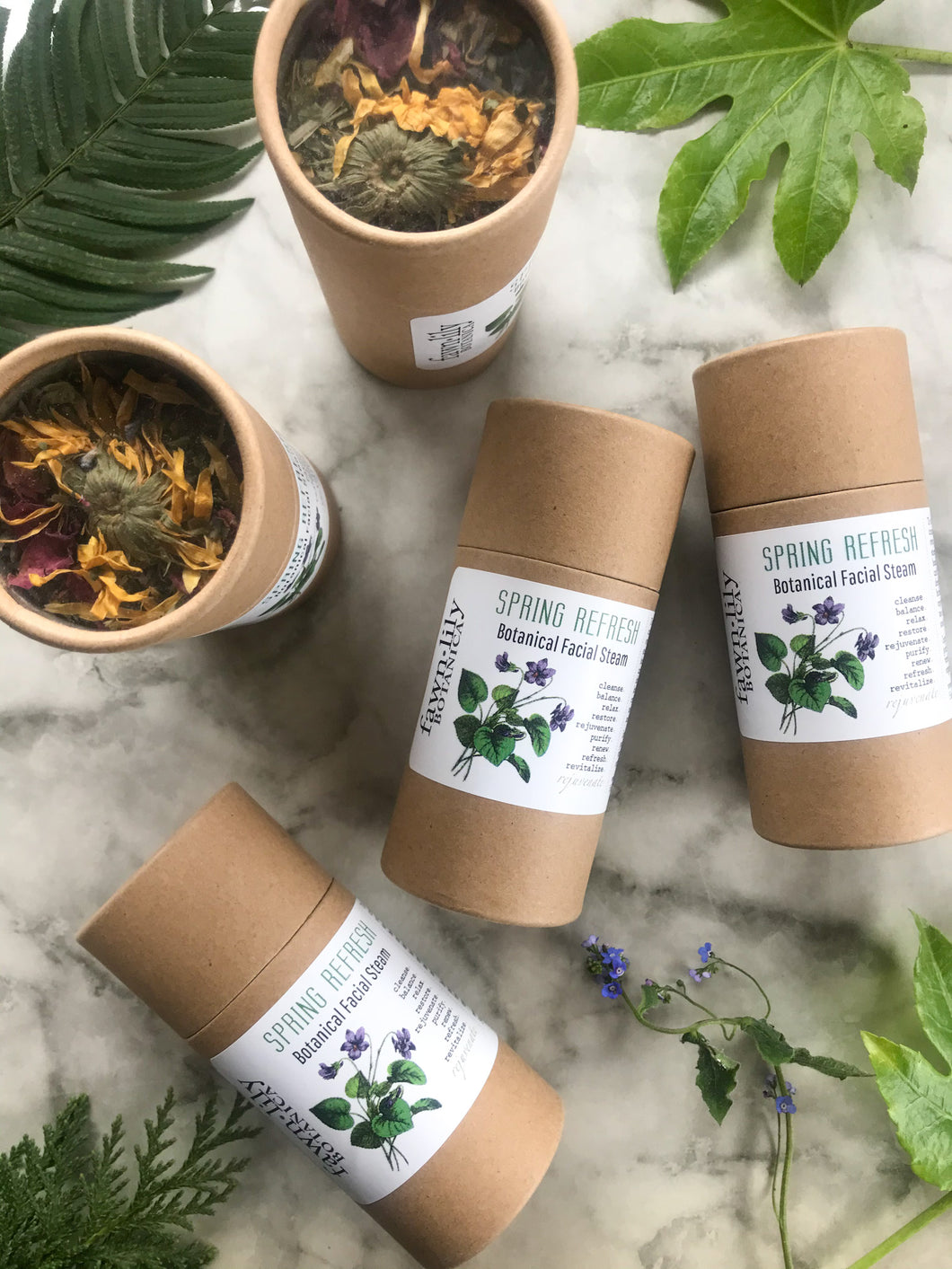 SPRING REFRESH BOTANICAL FACIAL STEAM - LIMITED EDITION!