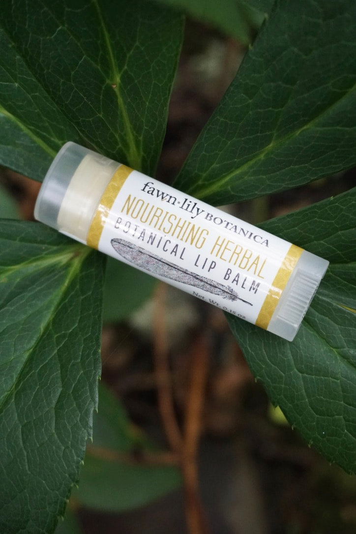 NOURISHING HERBAL BOTANICAL LIP BALM