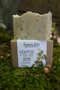 TEA TREE + EUCALYPTUS ARTISAN SOAP
