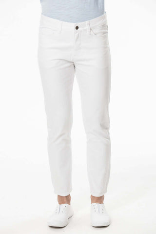 S1822312 - Cotton Stretch Twill Denim Pant White