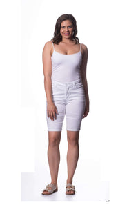 S1844085 - Cotton Stretch Sateen Pant White