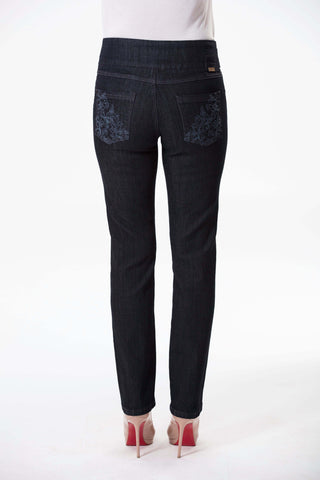 W04B1165 - Stretch Denim - Dark Horizon