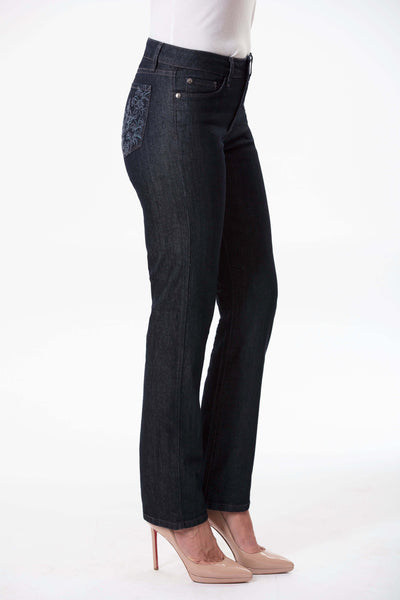 W04B1176 - Stretch Denim Pant - Dark Horizon