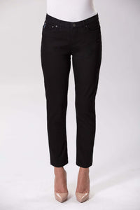 W04B2074  - Audrey Stretch Denim - Black Denim