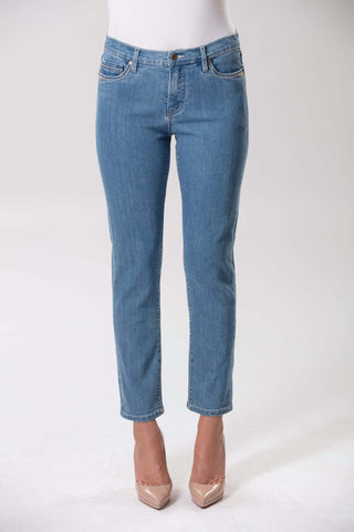 Audrey Stretch Denim - Lagoon Wash