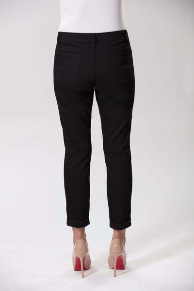 W04B2099 - Cotton Stretch Twill Denim - Black