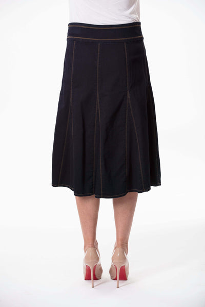 W04B5128 - Ainsley Classic Wash Skirt
