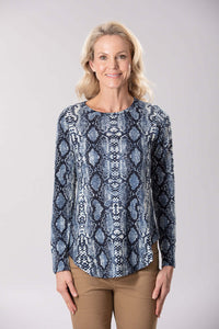 W2038541 - Brushed Stretch Knit Lake