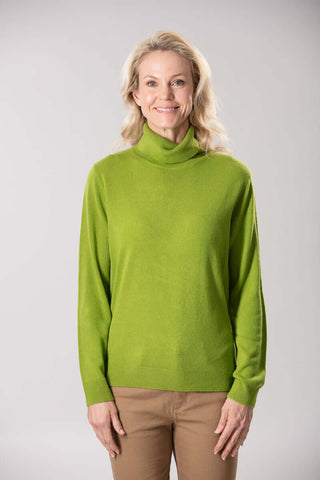 W2049173 - Feathersoft Knit 12GG Chartreuse