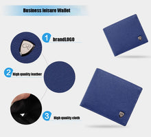 Load image into Gallery viewer, Wallet, New Fashion Multi Card Designer Leather Wallet for Men