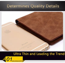 Load image into Gallery viewer, Wallet, New Design Men Thin Wallet With Coin Bag Zipper
