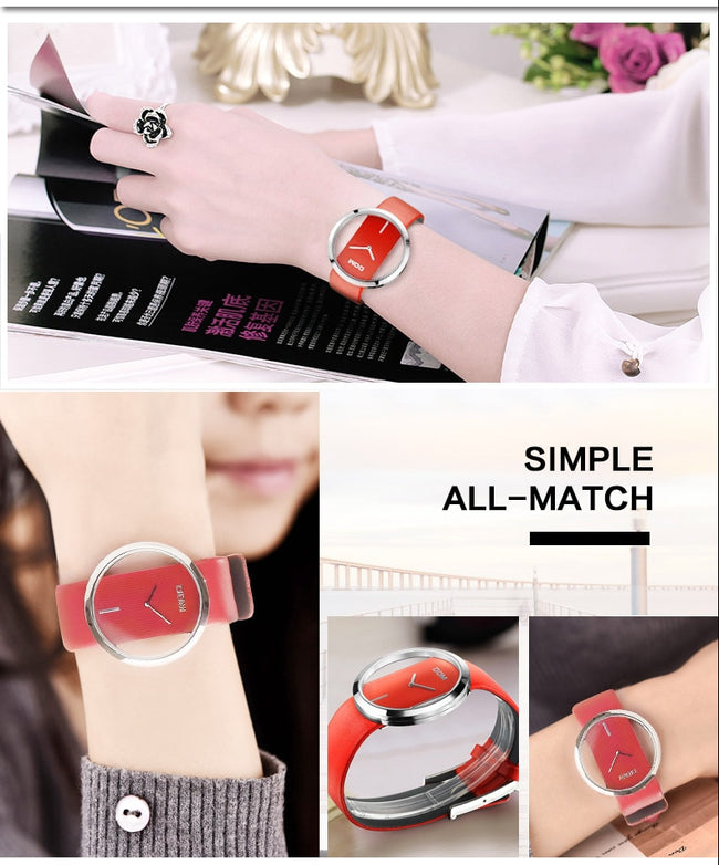 Watch, Trendy & Modern Casual 30m Waterproof Quartz Watch for Women