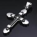 Pendant, Devout Hip Hop Cross Pendant