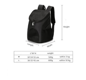Foldable Pet Backpack Carrier for cat and small Dog