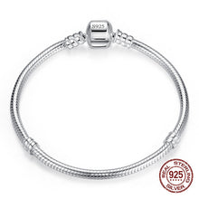 Load image into Gallery viewer, Bracelet,  Sterling Silver Charm Bangle Bracelet for Women