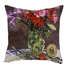 Load image into Gallery viewer, Cushion Cover, Vintage Flowers Oil Painting