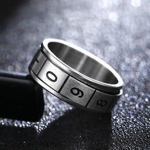 Load image into Gallery viewer, Ring, Triangular Titanium Ring for Men