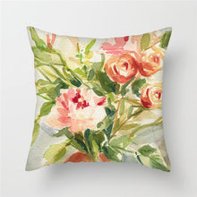 Load image into Gallery viewer, Cushion Cover, Decorative Flowers