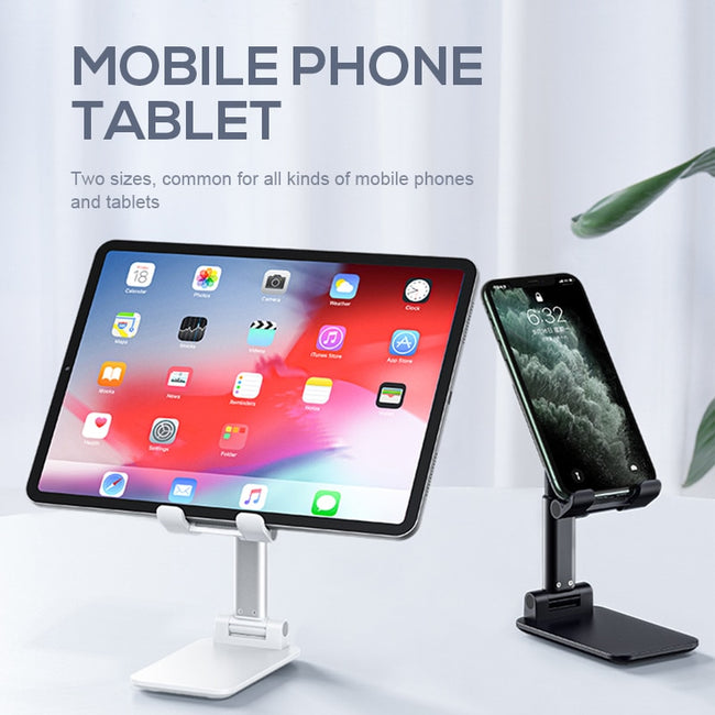 Phone Stand, Desktop Holder Stand For iPhone Samsung Mobile Phone & iPad Tablet