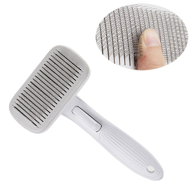 Pet Comb, High Quality Pet Comb for Dogs & Cats Grooming Easy Hair Removal