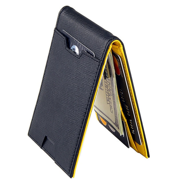 Slim Wallet, Trendy Casual Multi-Card Holder Ultra Thin Men Wallet