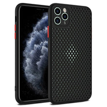 Load image into Gallery viewer, iPhone Case, Heat Dissipation Breathable Cooling Case For iPhone 11 11Pro Max XR XS Max X 8 7 6S Plus SE 2020