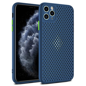 iPhone Case, Heat Dissipation Breathable Cooling Case For iPhone 11 11Pro Max XR XS Max X 8 7 6S Plus SE 2020