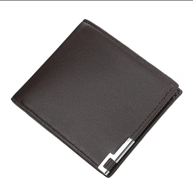 Wallet, Men Wallet with Zipper Pouch Card Holder and Coin Pocket