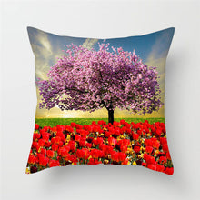Load image into Gallery viewer, Cushion Cover,  Beautiful Flower of Rose, Dandelion etc.